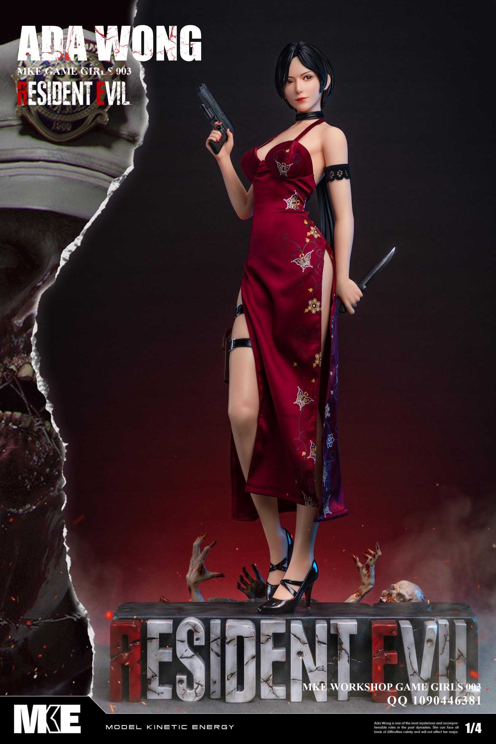 Ада Вонг представлена в виде очаровательнейшей раздевающейся фигурки