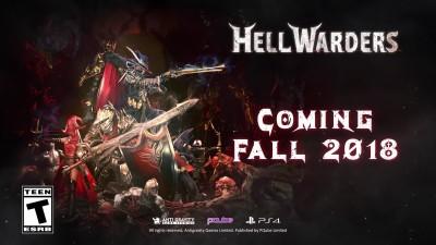 Анонсирующий трейлер Hell Warders