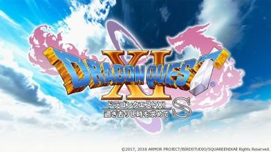 10 минут геймплея Dragon QuestXI S