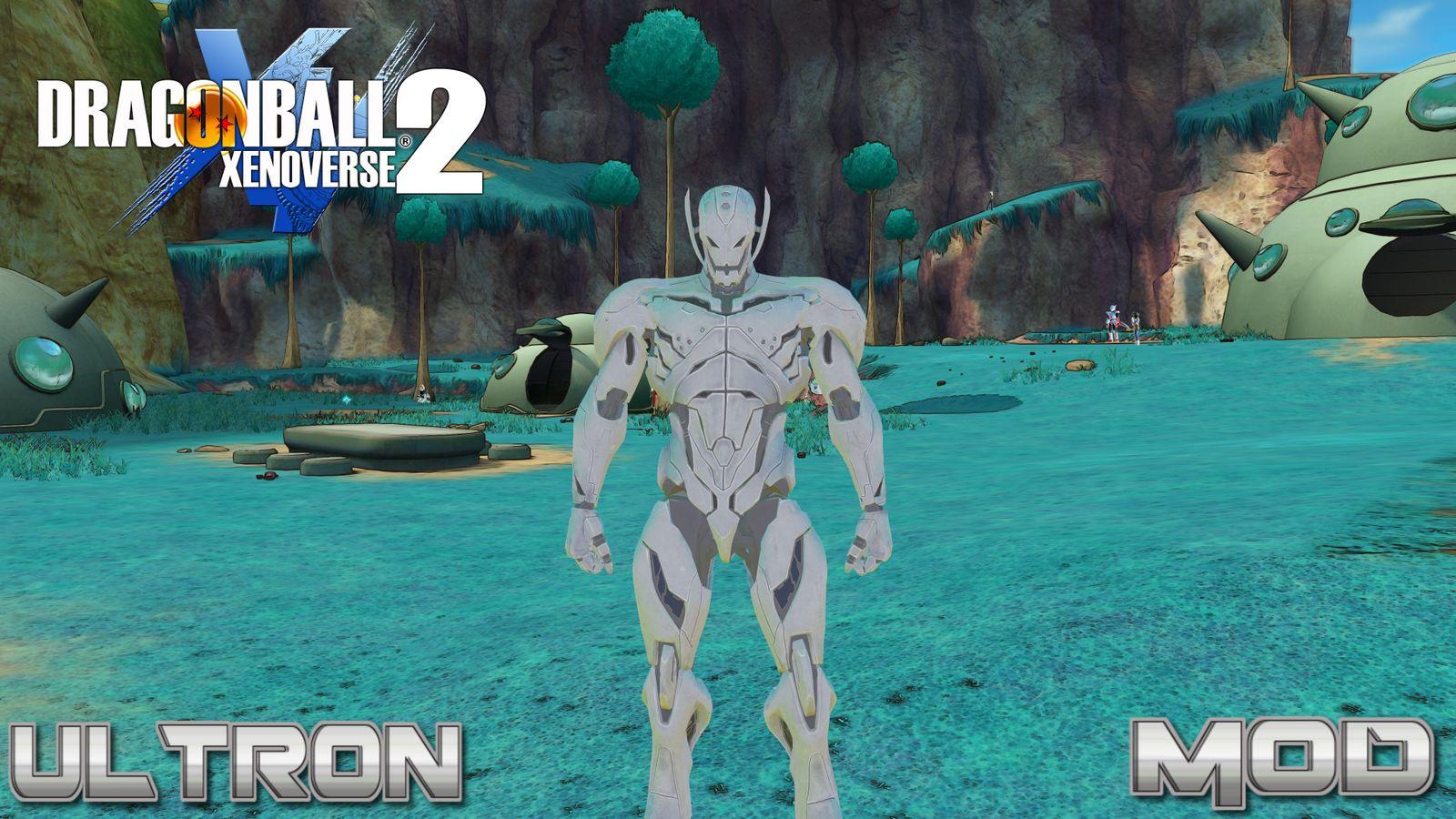 Dragon Ball Xenoverse 2 Mod Mvsci Ultron файлы патч