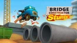 Bridge Constructor Stunts - запускаем грузовики в воздух