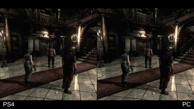 "Resident Evil HD Remaster ""Сравнение версий для PS4 30fps vs PC 60fps от Digital Foundry"""