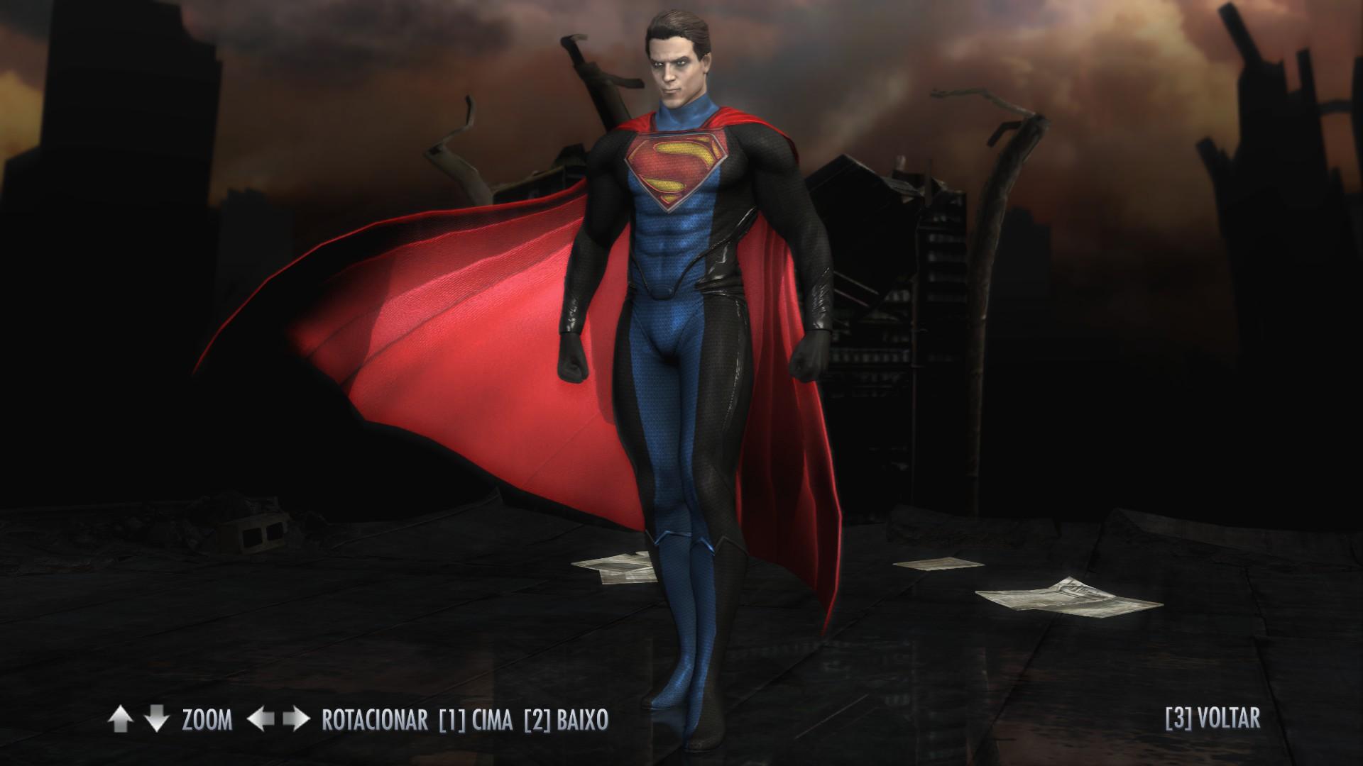 Мод на Скайрим на Супермена