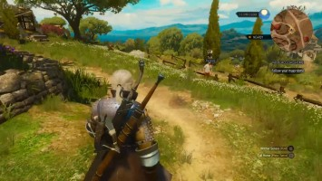 "The Witcher 3 Blood and Wine ""Геймплей от от VideoGamer"""