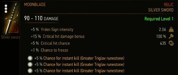 Instant Kill Rune