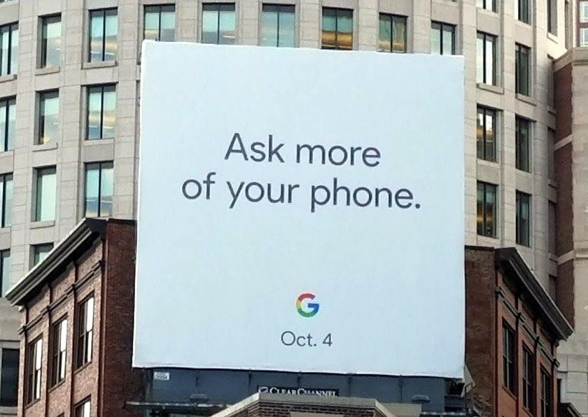 Стала известна дата премьеры телефонов Google Pixel 2