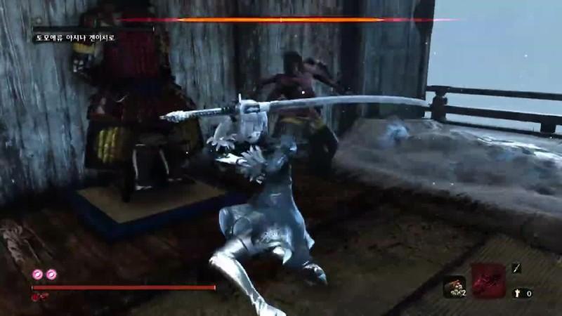 Игра в Sekiro: Shadows Die Twice за 2B (модификация)