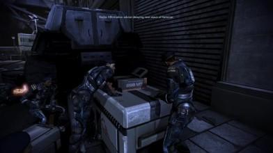 Лондон в Mass Effect 3 с видом от первого лица