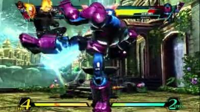 "Ultimate Marvel vs. Capcom 3 ""Fire vs Power Gameplay"""