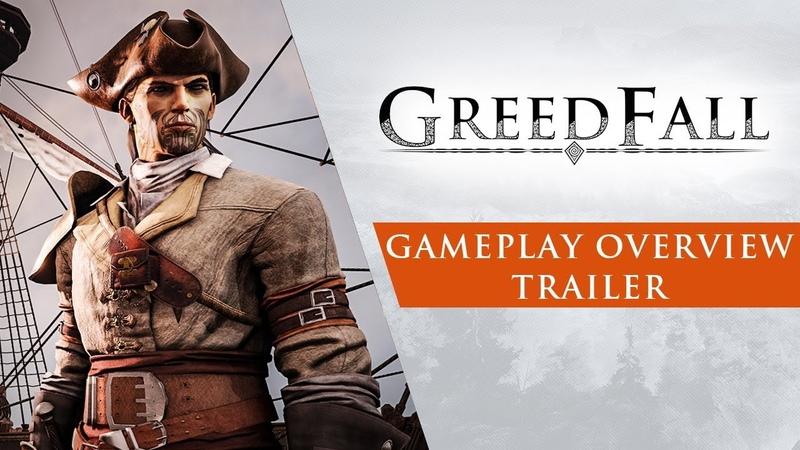 Обзорный трейлер GreedFall