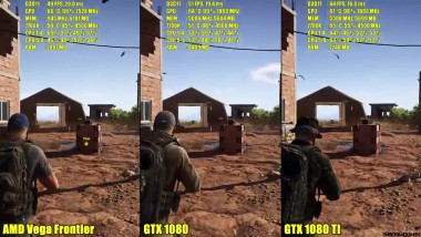 "Ghost Recon Wildlands ""Сравнение производительности AMD Vega Frontier Edition, Vs GTX 1080 TI Vs GTX 1080 1440P FPS"""