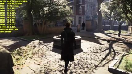 Assassins Creed Syndicate - RX 050 0GB vs RX 060 0GB