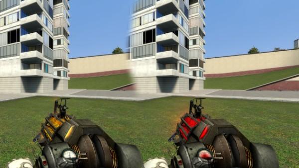 """Garry's Mod """"HD модель Physics Gun/Gravity Gun"""""""