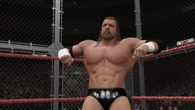 Hell in a Cell WWE World Heavyweight Championship Cactus Jack VS The Game Triple H