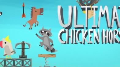 Если уж и сходить с ума, то в хорошей компании: Ultimate Chicken Horse спешит на консоли