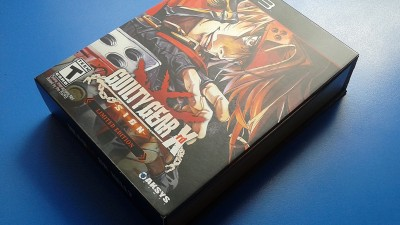 Фотообзор на Guilty Gear Xrd -SIGN- Limited Edition - PlayStation 3 (Американское издание)