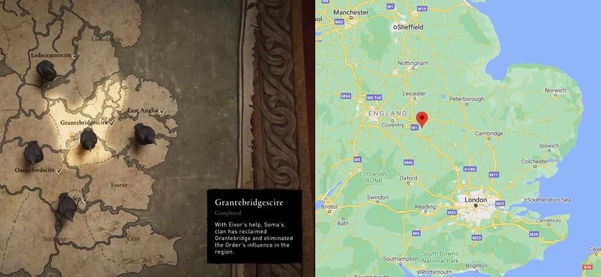 Поселение в Assassin's Creed Valhalla реально существует, но это совпадение