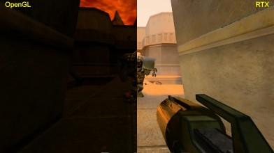 Quake 2 RTX с аддоном The Reckoning - сравнения графики OpenGL|RTX на базе GTX 1080
