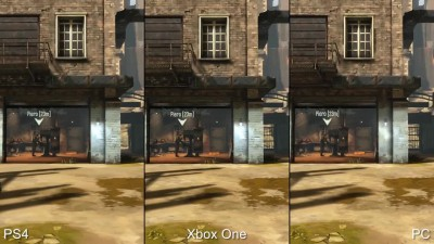 "Dishonored Definitive Edition ""Сравнение PS4 vs Xbox One vs PC (DigitalFoundry)"""