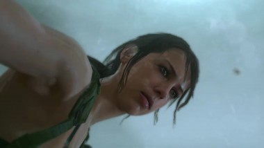 Лучшие сцены с Quiet в Metal Gear Solid 5: The Phantom Pain (MGSV)