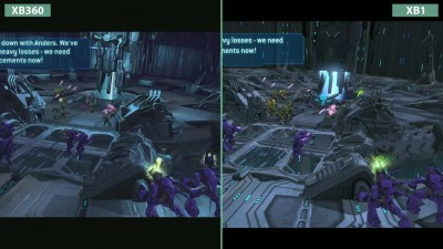 Halo Wars -Сравнение Original Xbox 360 vs. Xbox One Definitive Edition (Candyland)
