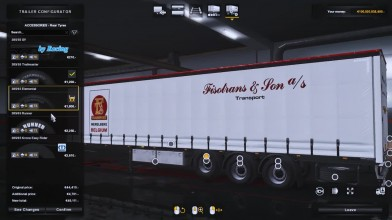 Euro Truck Simulator 2 - Обзор SCS Trailer Tuning Pack v 1.1 Для 1.35