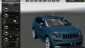 "ETS2 ""Обзор Jeep Grand Cherokee SRT8 v1.5 для 1.25.х"""