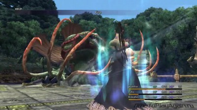 Final Fantasy X HD Remastered на русском языке. Храм Килики. Серия 8