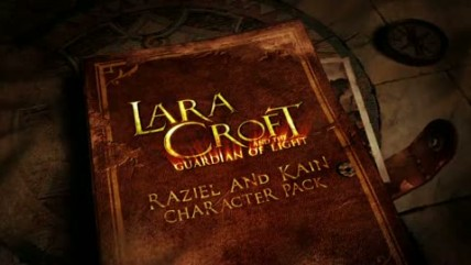 "Lara Croft and the Guardian of Light ""Raziel and Kain Character Pack Trailer"""