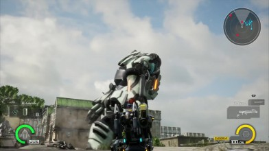 20 минут игрового процесса Earth Defense Force: Iron Rain
