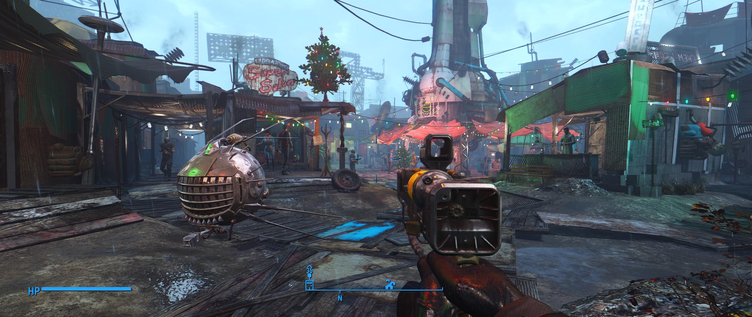 Fallout 4 моды видео