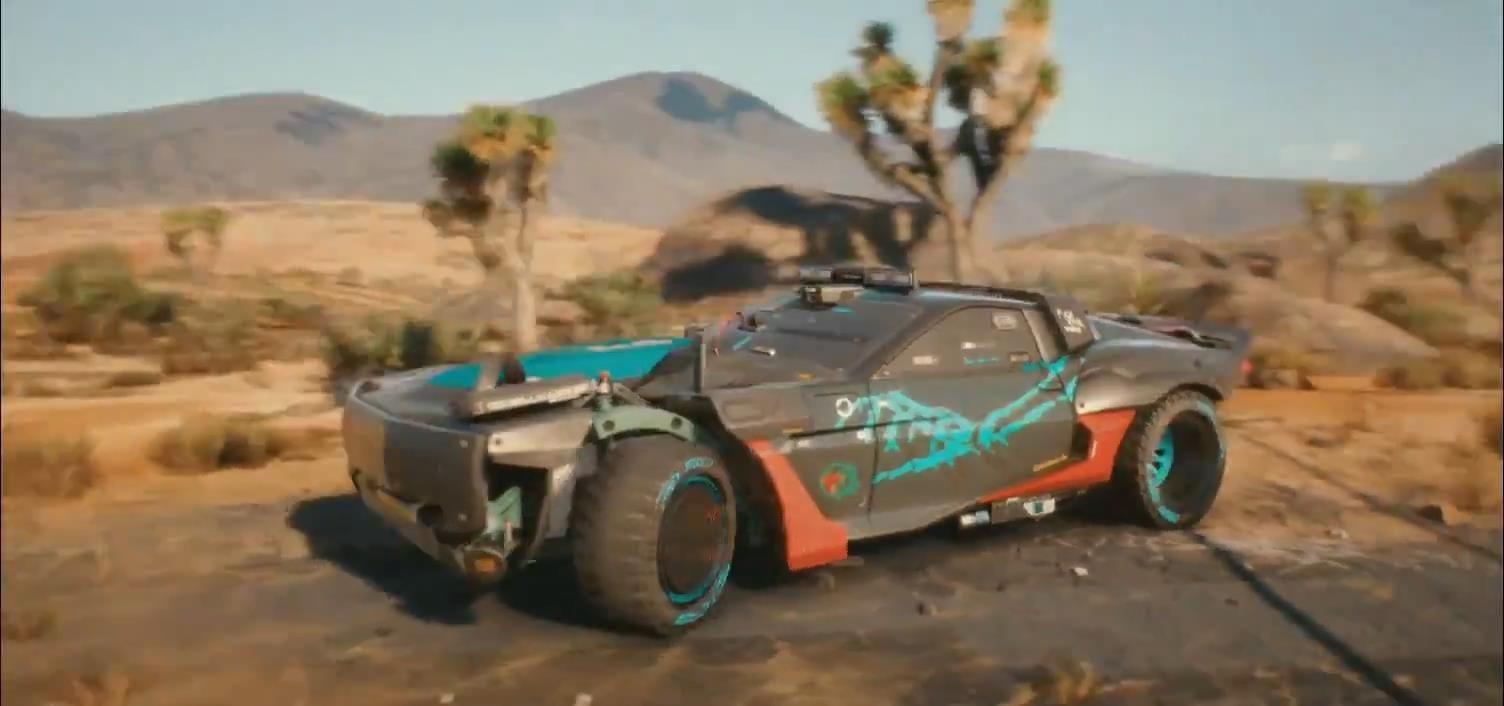 CD Projekt RED опубликовали тизер автомобиля 'Разбойник' из Cyberpunk 2077