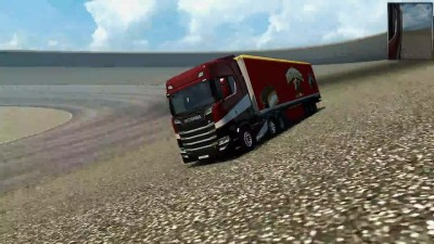 "Euro Truck Simulator 2 ""Physics of the truck v 2.1 from ~Tok~"""