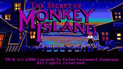 25 лет The Secret of Monkey Island