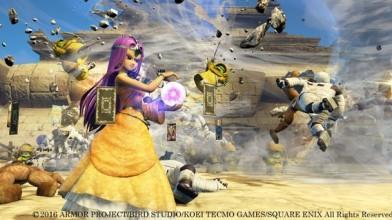 Девятиминутная запись кооперативного прохождения Dragon Quest Heroes II