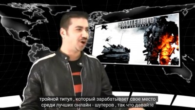 Battlefield: Bad Company 2 - обзор от Angry Joe [rus auto sub]