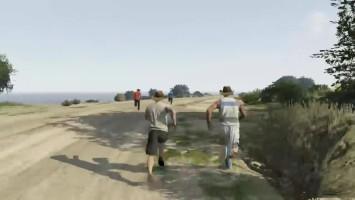 """GTA 5 Online """"Пешком вокруг Сан Андреаса"""""""