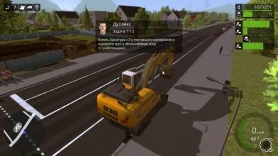 "Construction Simulator 15 ""Мега_котлован _ ч46 """