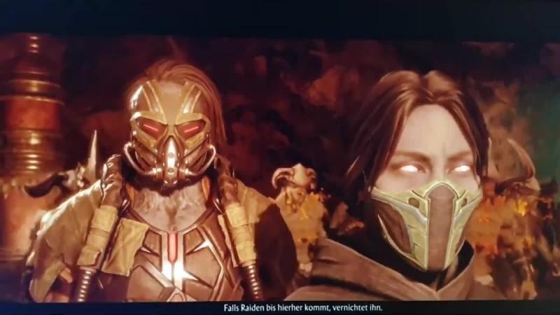 10 минут слитого геймплея режима истории в Mortal Kombat 11