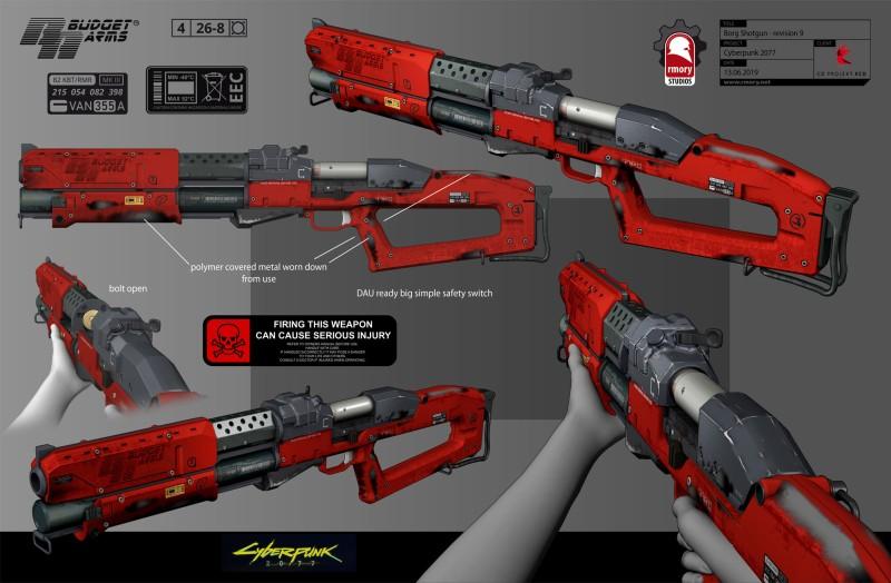 Новые концепт-арты Cyberpunk 2077