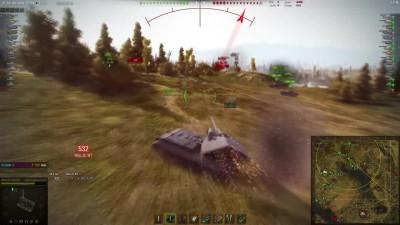������������ ���� �� Waffenträger auf E 100