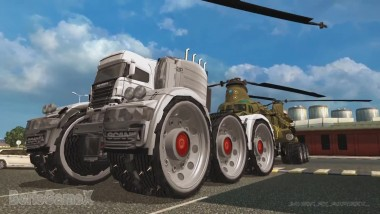 "ETS 2 ""Scania Monster Truck 6 Wheels"""