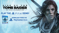 На PS4 доступна демо-версия Rise of the Tomb Raider