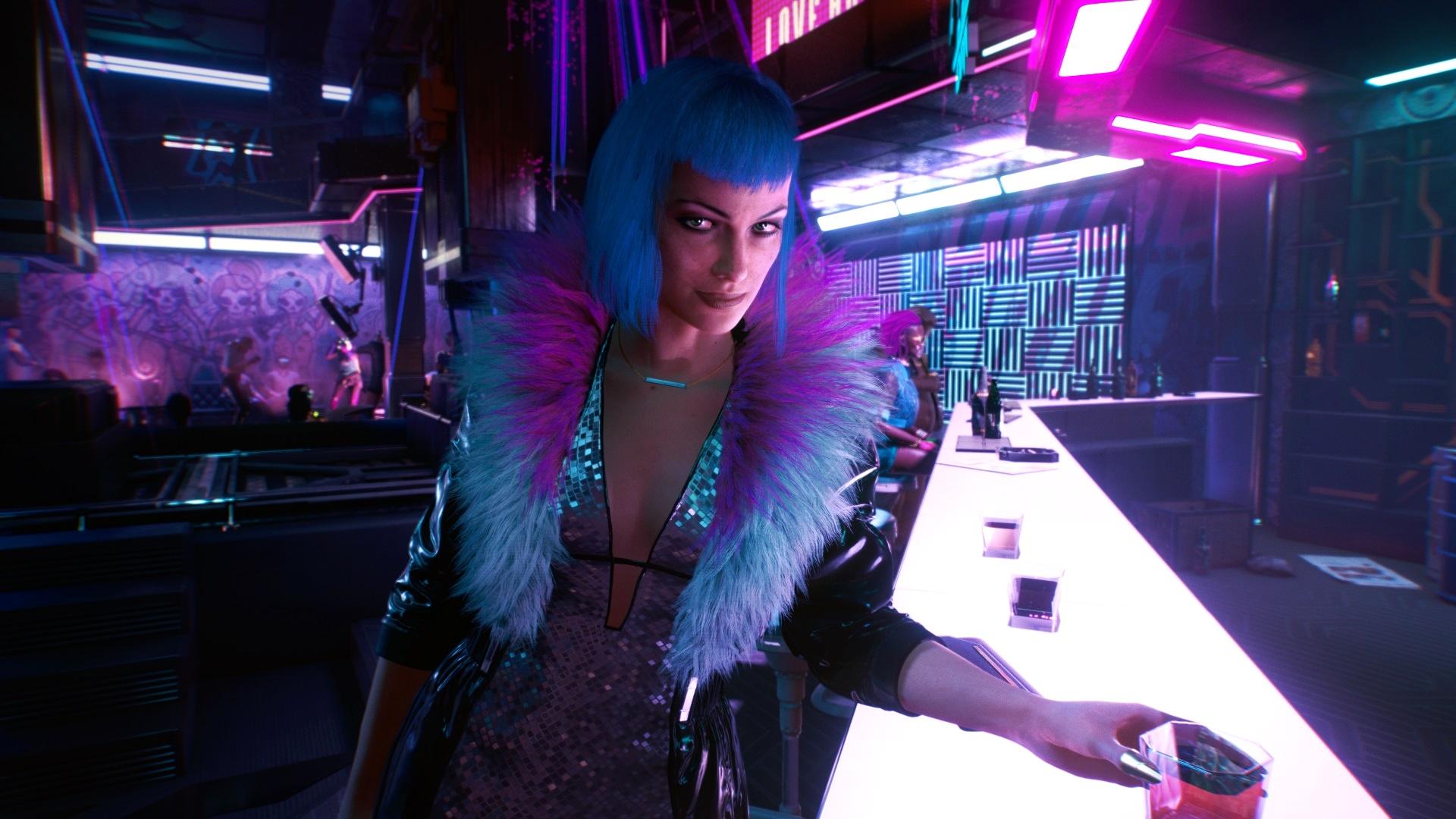 Список опций для кастомизации V из Cyberpunk 2077