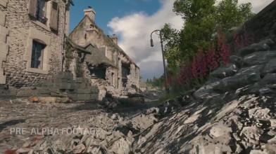 """Enlisted E3 2018: геймплей на карте """"Вторжение в Нормандию / Городское сражение"""""""