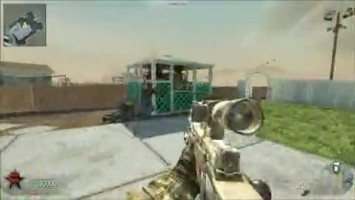 "Call of Duty Black Ops  ""Quick scope in Black Ops MP"""