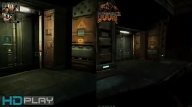 """Doom 3 BFG Edition и Doom 3 """"Сравнение графики"""""""