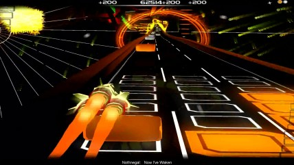 "Audiosurf ""Nothnegal - Now I've Waken"""