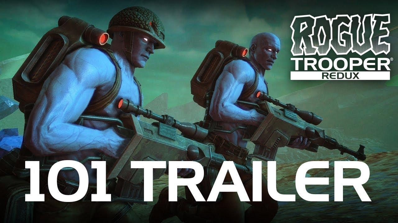 Все о Rogue Trooper Redux