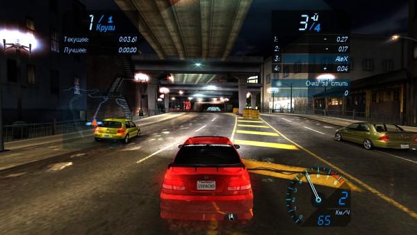 Need for speed underground 2 как сделать на весь экран